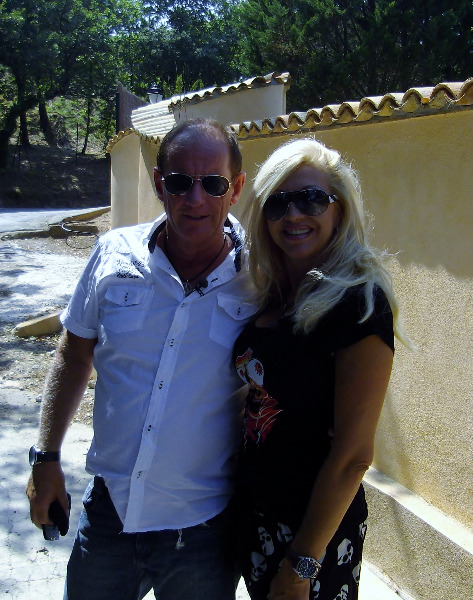 Pharo und Carmen Geiss